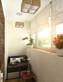 Примеры ремонта балконов и лоджий три метра от (ооо балкон м.