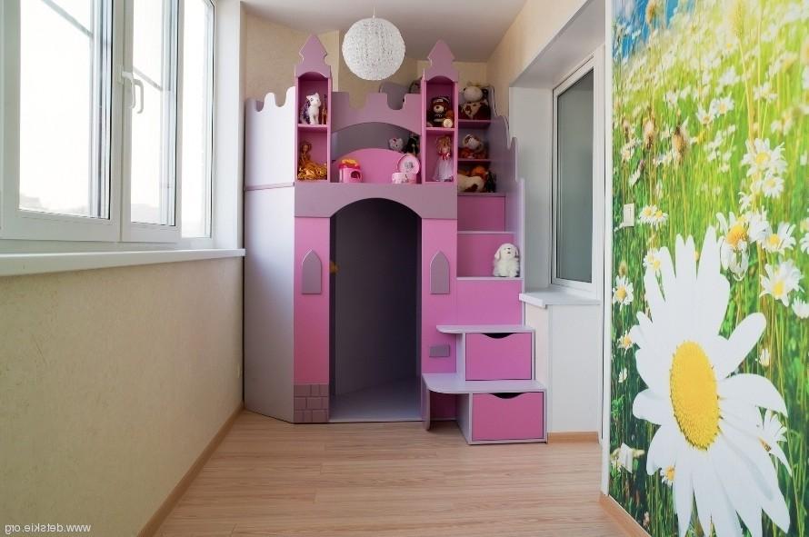 Примеры детских комнат на балконах или лоджиях от (ооо балко.