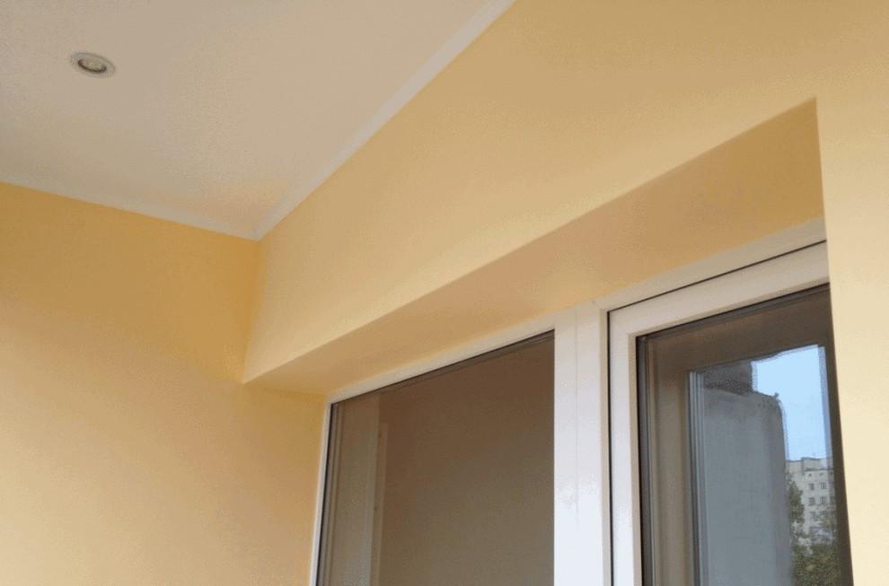 Примеры отделки балконов и лоджий гипсокартоном от (ооо балк.