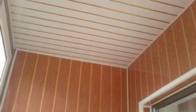 Примеры отделки балконов и лоджий мдф панелями от (ооо балко.