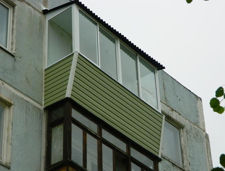Как монтировать сайдинг: как крепить на балконе, видео-инстр.