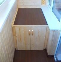 Примеры изготовления тумбы для балконов и лоджий от (ооо бал.