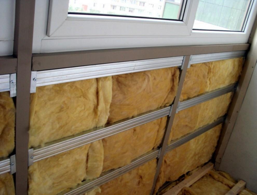 Утепление стены на балконе пошаговая инструкция