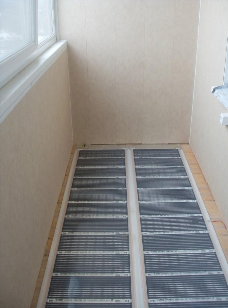 Теплый пол на балконе под плитку: какой лучше, укладка и мон.