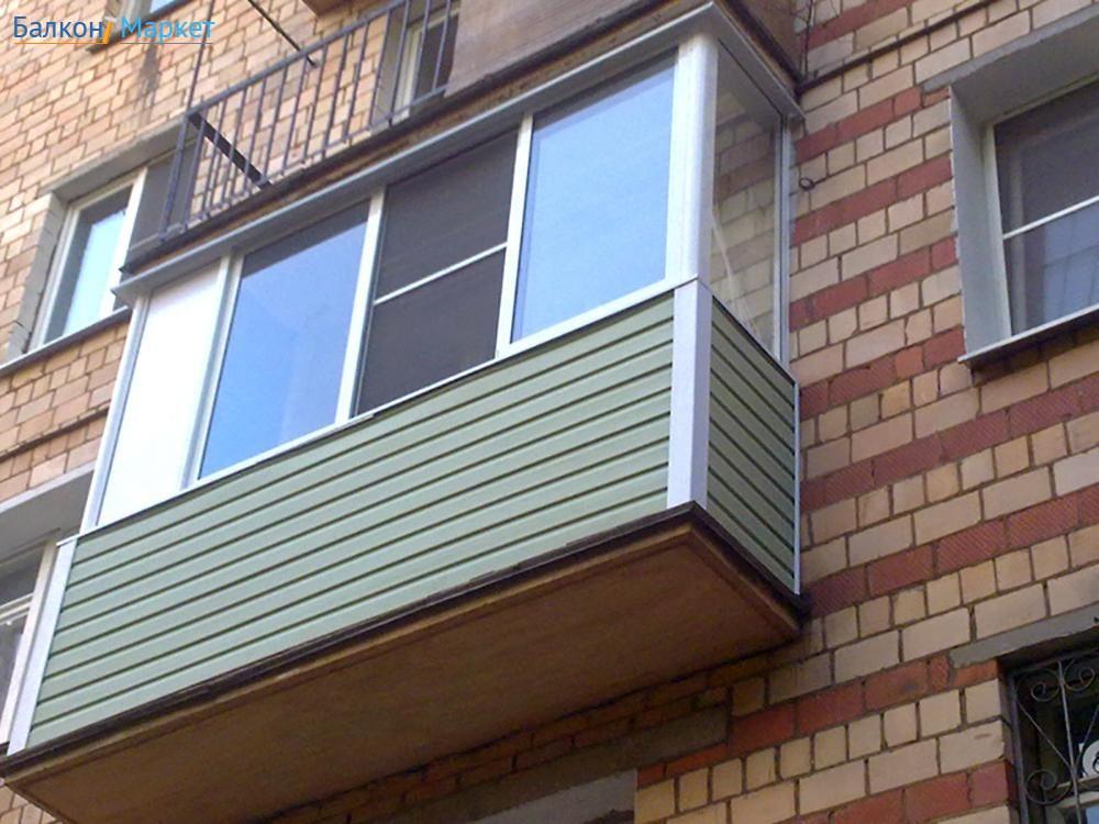 Обшивка балкона сайдингом. отделка балкона сайдингом своими .