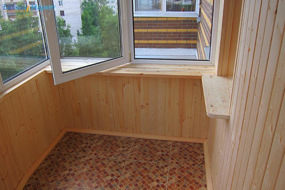 Балконы в хрущевке - отделка, интересные идеи, фото.
