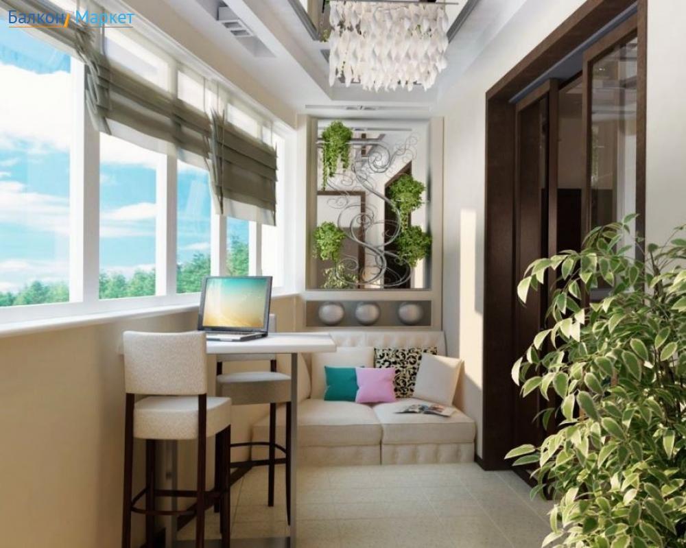 Красивые балконы в квартире фото.