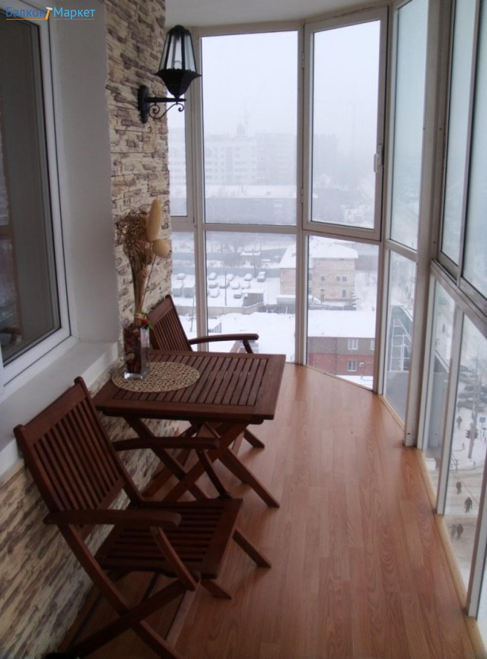 Внутренняя отделка балкона и лоджий цена в москве.