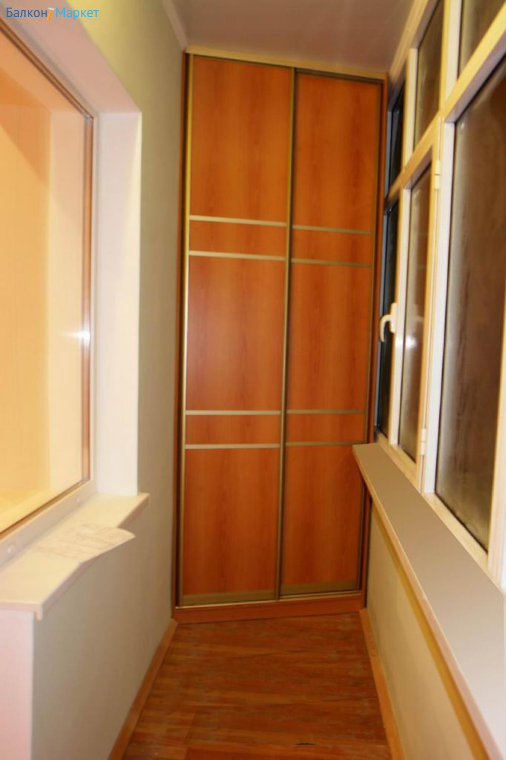 Шкафчик для балкона видео.