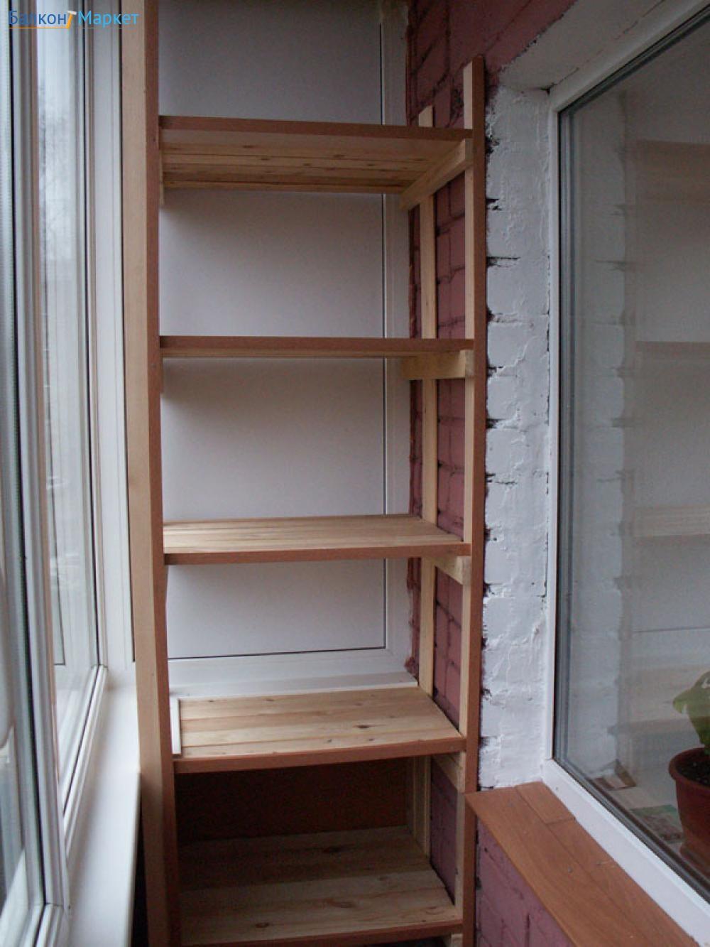 Встроенная мебель для балкона и лоджнии своими руками, фото .