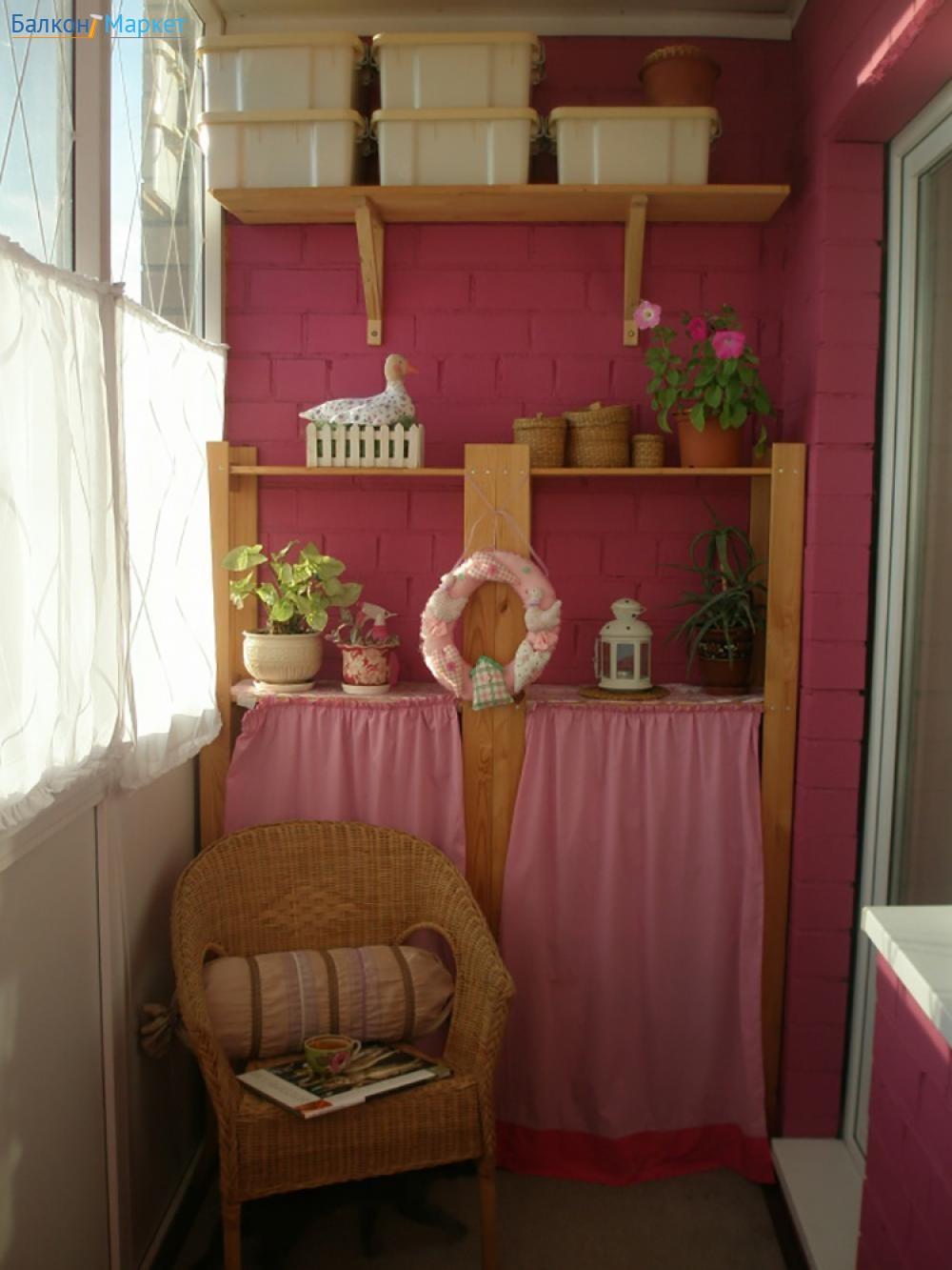 Как обустроить балкон или лоджию - 170 идей - фото.