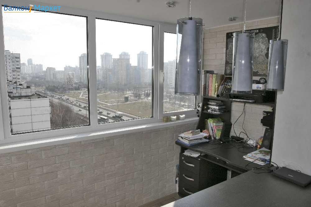 Технология ремонта и остекления балкона алюминиевыми окнами .