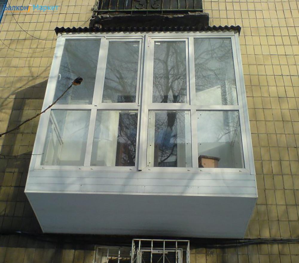 """Компания """"фабрика балконов"""" - фото - теплое остекление."""