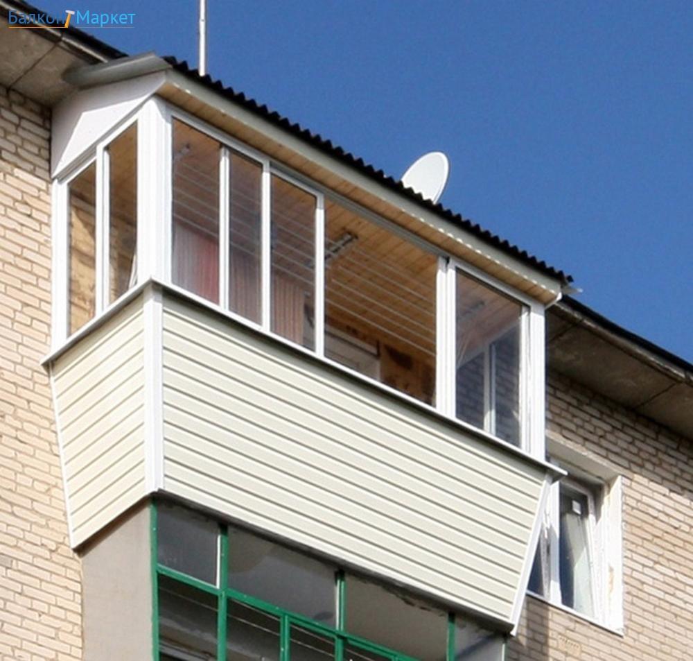 Установка выносного остекления на балконах и лоджиях от (ооо.