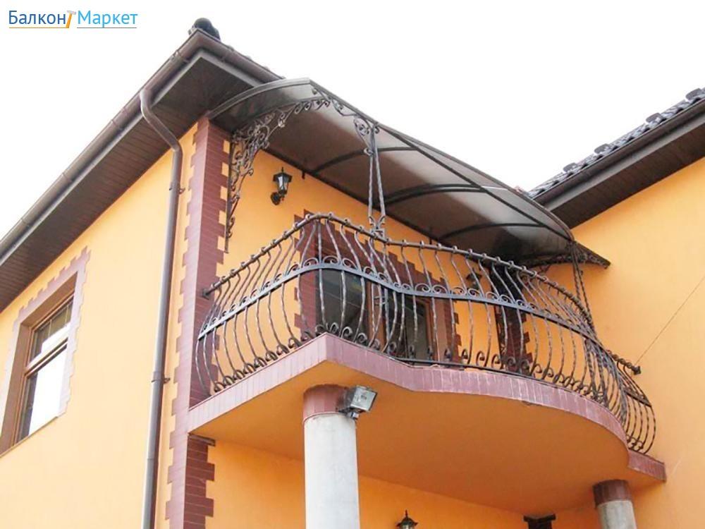 Делаем козырек над балконом своими руками. как сделать козыр.