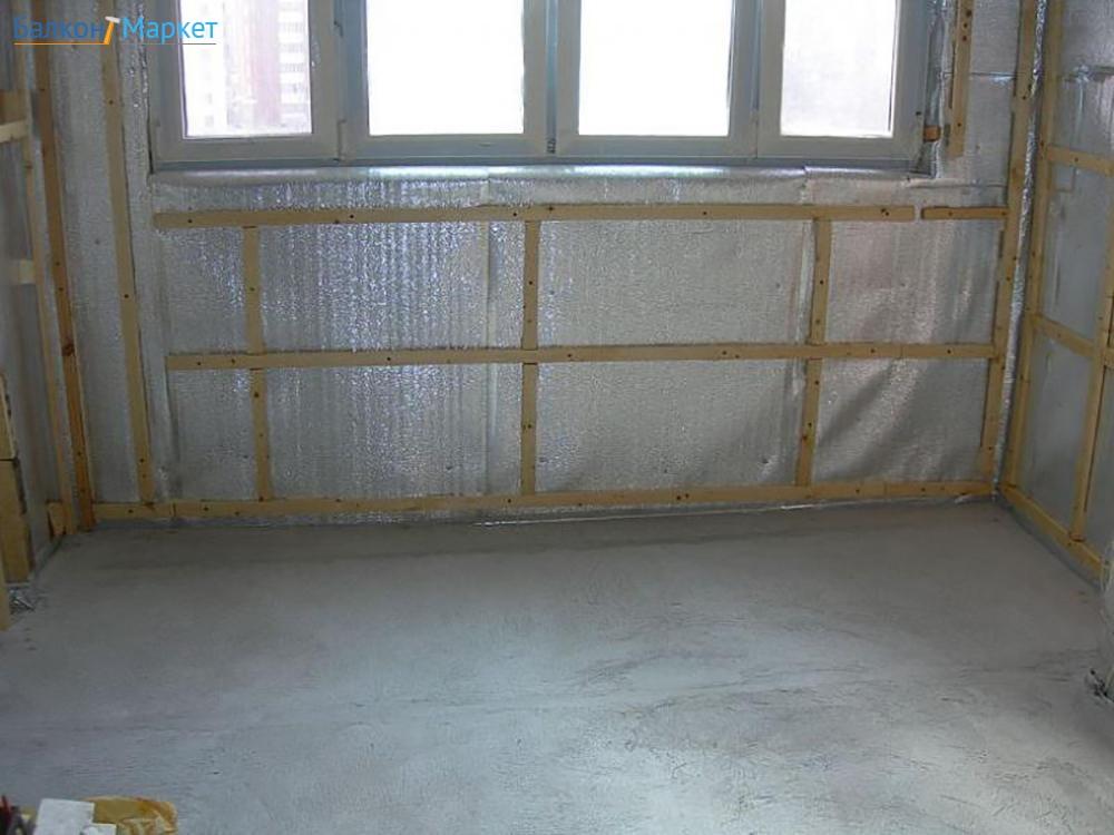 Чем утеплить балкон или лоджию изнутри? (все об утеплении ба.