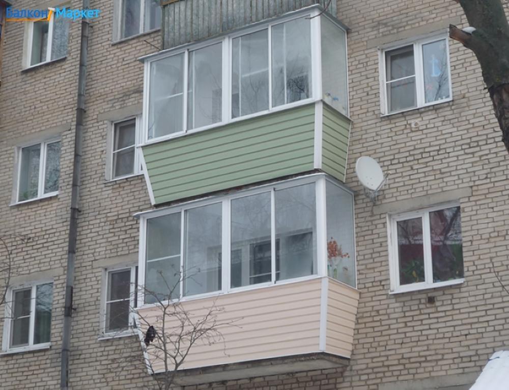 Сколько должен выдерживать балкон в брежневке.