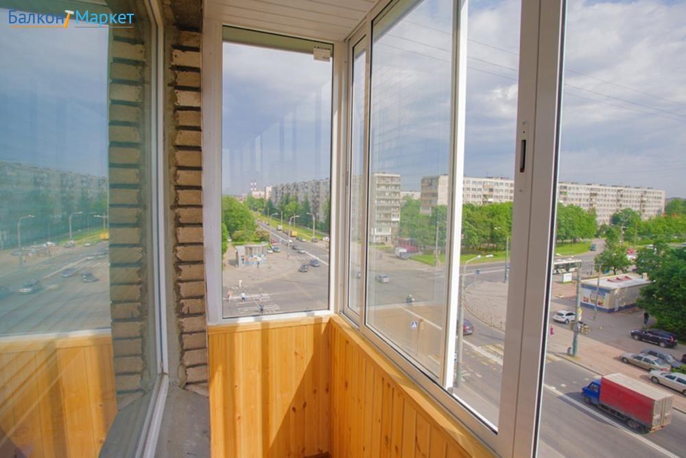 Ширина балкона в серии и 209а. - дизайн маленьких лоджий - к.